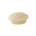 "Cindoco 1/2"" Birch Buttons - 15 count bag"