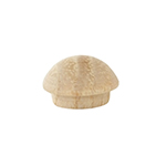 "Cindoco 3/8"" Hickory Buttons - 12 count bag"
