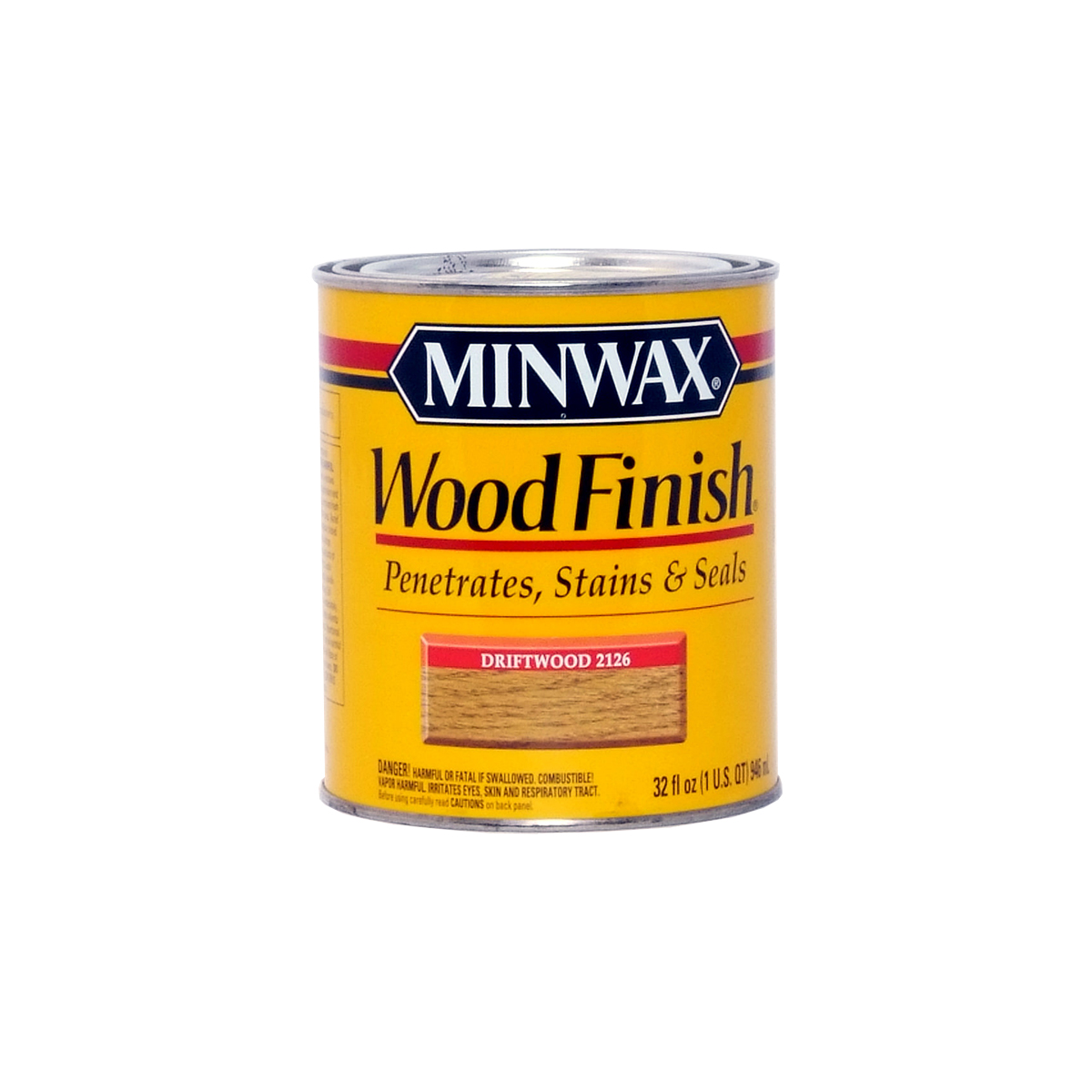 Minwax Driftwood 2126 Stain   Quart