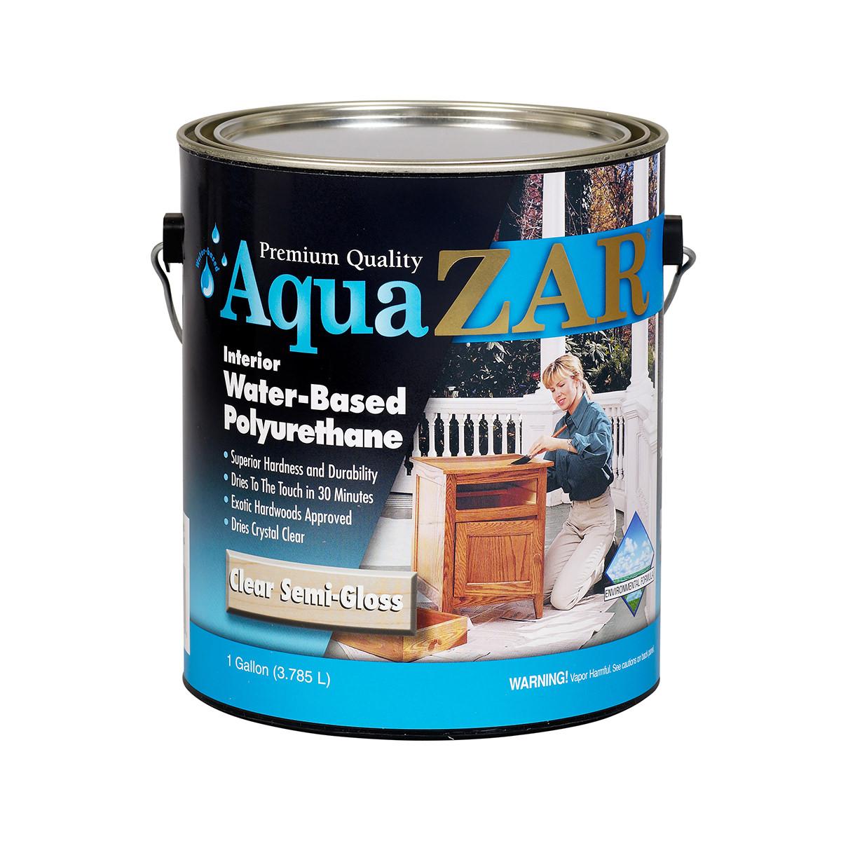 ZAR Aqua Semi-Gloss 233 Polyurethane Finish