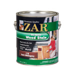 ZAR Dark Mahogany 118 Oil-Based Wood Stain - Gallon