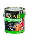 ZAR Black Onyx 121 Oil-Based Wood Stain - Gallon