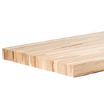 "2-34"" x 30"" x 96"" Hickory Workbench Top"