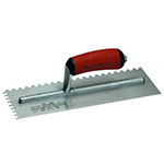 "Marshalltown 1/4"" x 1/4"" Square Notch Trowel"