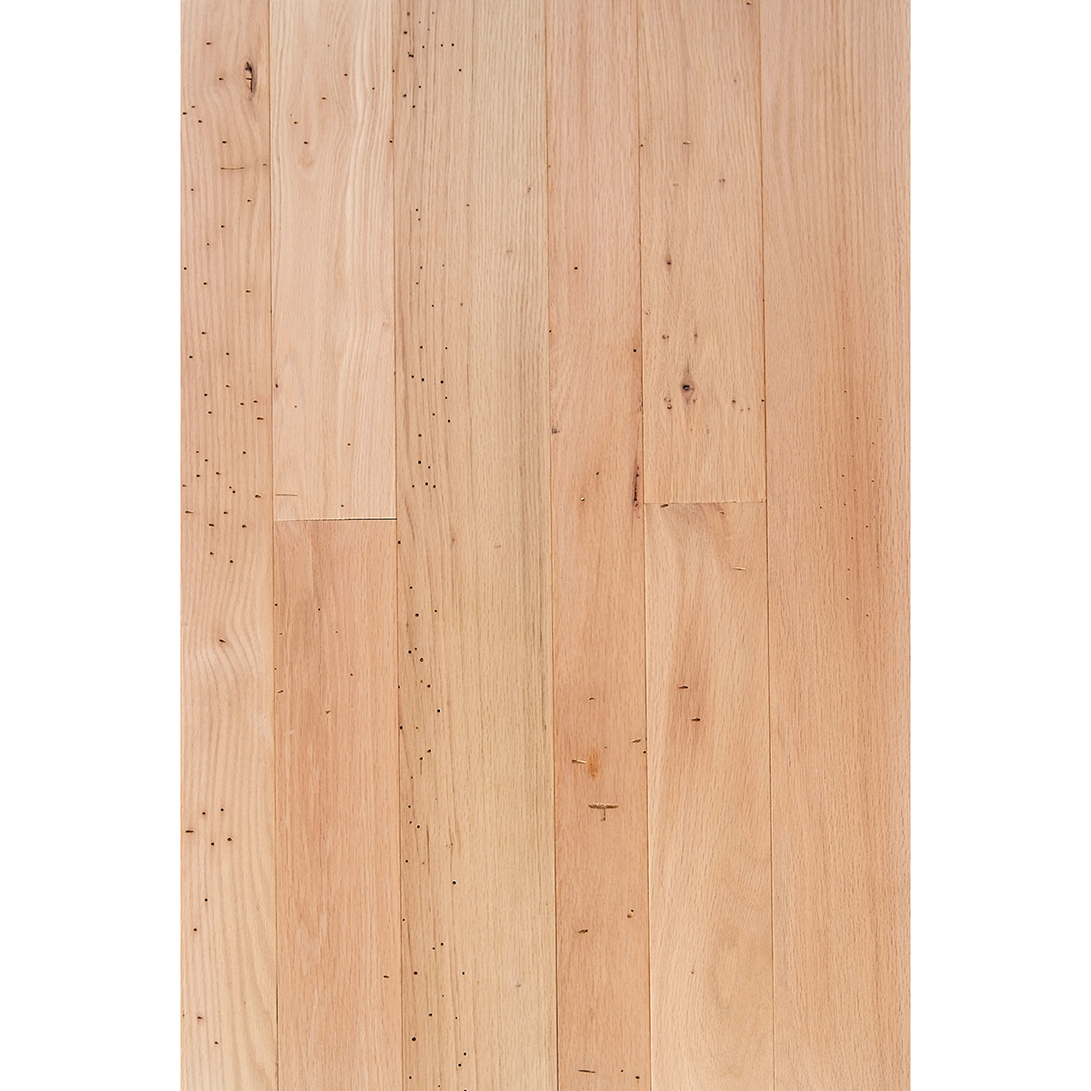 Red oak wormy rustic 3 4 x 3 4 5 flooring for Rustic red oak flooring