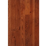 "Prefinished <b>Traditional Cherry</b> with Clear Semi-Gloss 3/4""x3"" Hickory Character Grade Flooring"