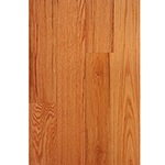 "Prefinished <b>Clear Semi-Gloss</b> 3/4"" x 5"" Red Oak Select Grade Flooring"
