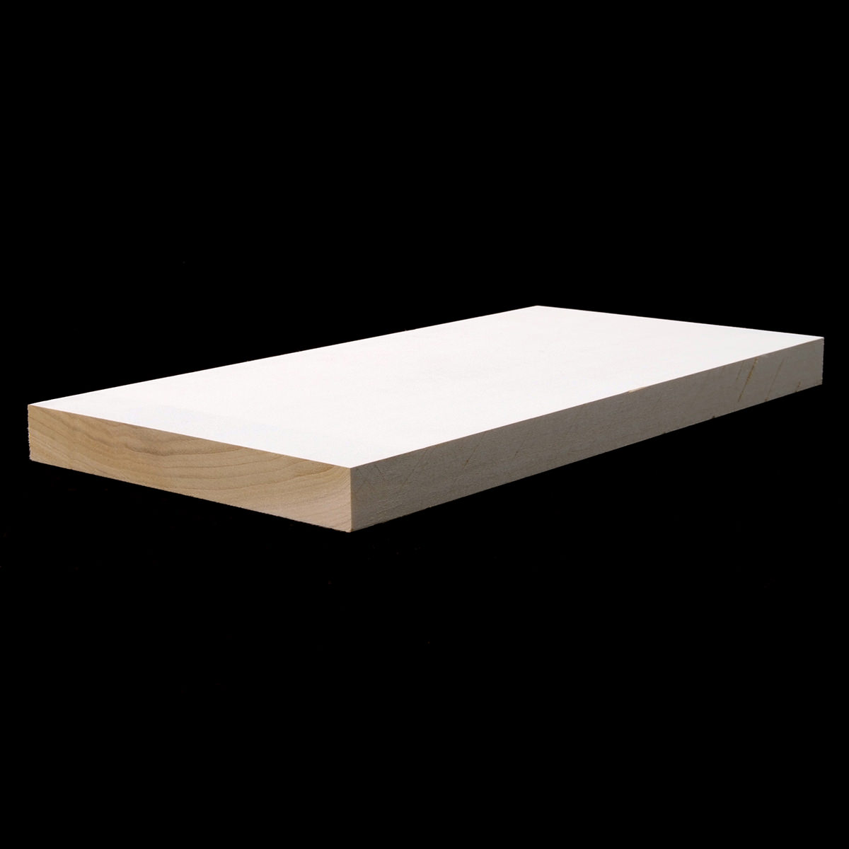 1x6 3 4 x 5 1 2 f j primed poplar s4s lumber boards flat