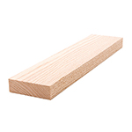"3/4"" x 2-1/2"" Red Oak Lumber 1x3"