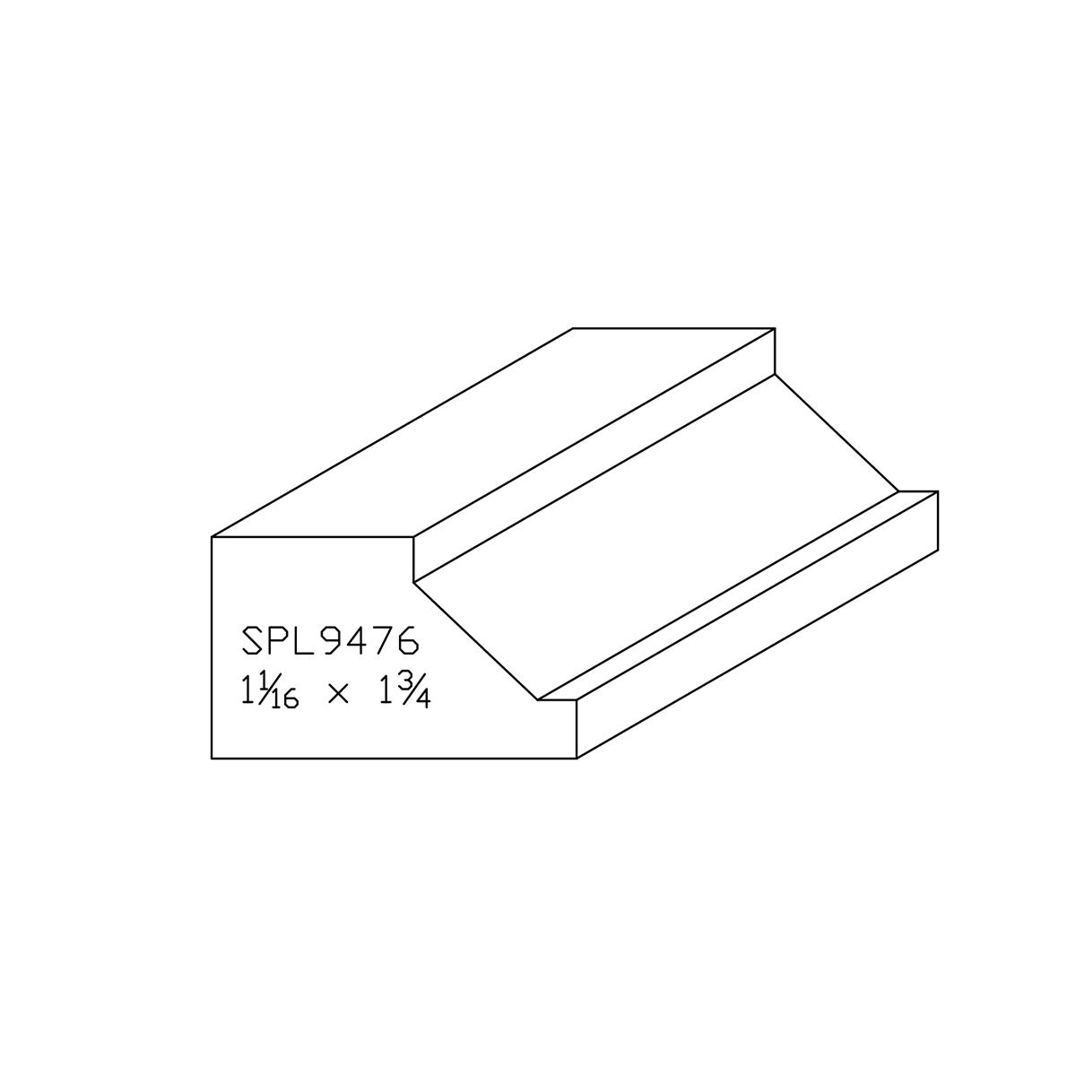 Custom Hard Maple Brick Moulding Spl9476