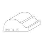 "1-3/4"" x 3-1/2"" Custom Cherry Miscellaneous Moulding - SPL9116"