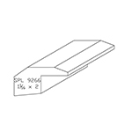 "1-1/16"" x 2"" F/J Primed Poplar Custom Threshold - SPL9266"