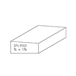 "3/4"" x 1-3/4"" Custom Cherry Miscellaneous Moulding - SPL9310"