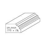"0.775"" x 1-3/8"" White Oak Custom Brick Moulding - SPL9403"