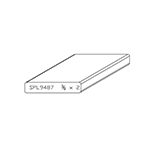 "3/8"" x 2"" Cherry Custom Accessory Moulding - SPL9487"