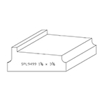 "1-3/8"" x 3-3/8"" Custom Cherry Miscellaneous Moulding - SPL9499"