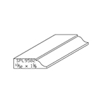 "0.40625"" x 1-3/8"" Cherry Custom Door Stop - SPL9582"