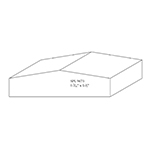 "1.438"" x 5-1/2"" Custom Cherry Miscellaneous Moulding - SPL9673"
