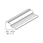 "3/4"" x 1"" Custom Cherry Accessory Moulding - SPL9719"