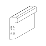 "11/16"" x 2"" Custom Cherry Accessory Moulding - SPL9728"