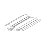 "0.795"" x 2.200"" Custom Cherry Accessory Moulding - SPL9730"