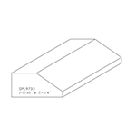 "1.062"" x 2-1/4"" Custom Cherry Accessory Moulding - SPL9733"