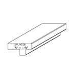 "3/4"" x 1-1/2"" Custom Cherry Accessory Moulding - SPL9758"