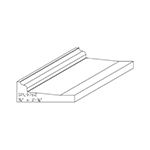 "3/4"" x 2-1/8"" Cherry Custom Miscellaneous Moulding - SPL9762"
