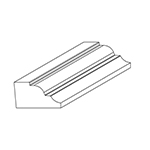 "0.795"" x 1.453"" Cherry Custom Miscellaneous Moulding - SPL9773"