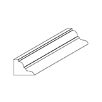 "3/4"" x 1"" Cherry Custom Miscellaneous Moulding - SPL9783"