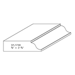 "3/4"" x 2-3/4"" Cherry Custom Miscellaneous Moulding - SPL9788"