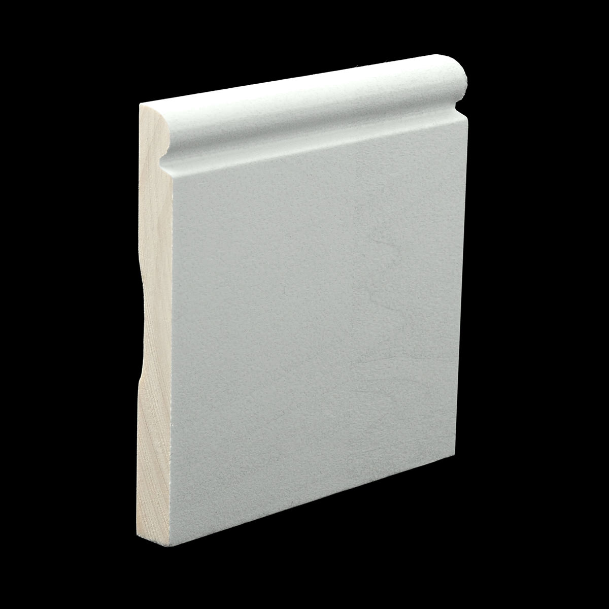 Primed Baseboard Molding from Baird Brothers   1-800-732-1697