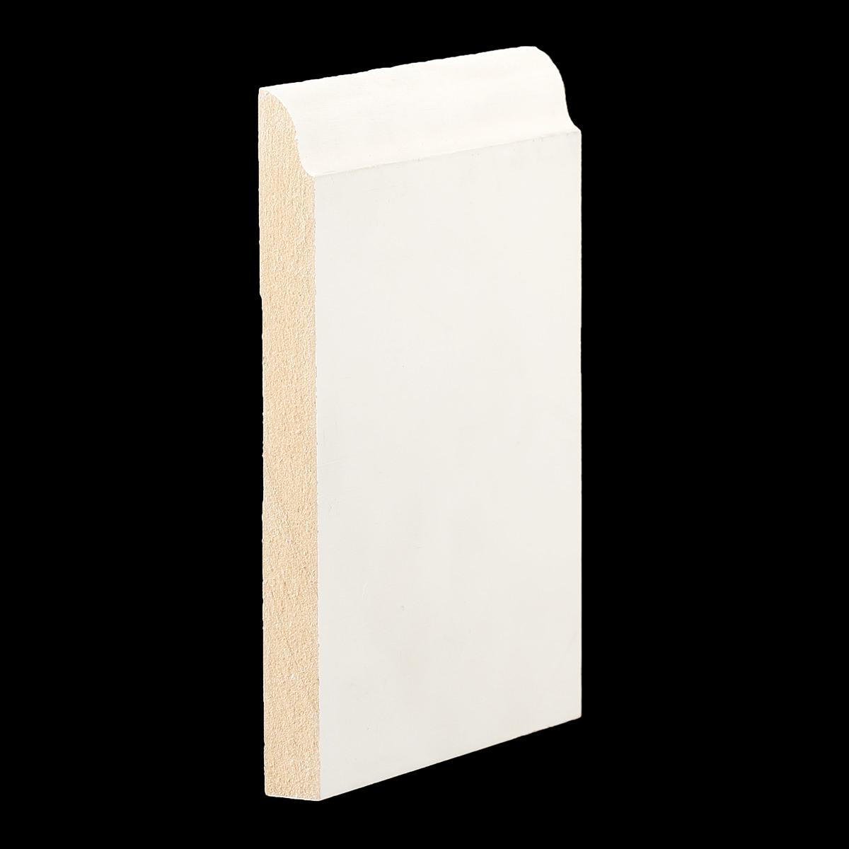 1 2 x 5 1 4 mdf primed o g baseboard mdf658. Black Bedroom Furniture Sets. Home Design Ideas