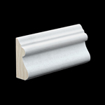 F/J Primed Poplar Base Cap B204