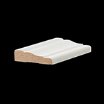 "5/8"" x 2-1/4"" MDF Primed Colonial Casing - MDF356"