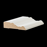"3/4"" x 3"" MDF Primed Colonial Casing - MDF411"