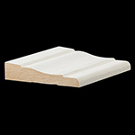 "11/16"" x 3-1/2"" MDF Primed Colonial Casing - LMDF444"