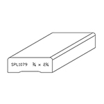 "3/4"" x 2-1/8"" Quarter Sawn White Oak Custom Casing - SPL1079"