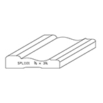 "3/4"" x 3-1/4"" Quarter Sawn White Oak Custom Casing - SPL1101"