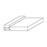 "3/4"" x 3-1/4"" Quarter Sawn White Oak Custom Casing - SPL1122"