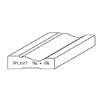 "1-1/16"" x 2-1/2"" Quarter Sawn White Oak Custom Casing - SPL1127"