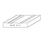 "3/4"" x 4"" Quarter Sawn White Oak Custom Casing - SPL1139"