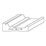 "1-1/16"" x 3-1/2"" Quarter Sawn White Oak Custom Casing - SPL121"