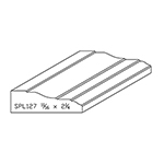 "11/16"" x 2-1/4"" Quarter Sawn White Oak Custom Casing - SPL127"