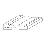 "3/4"" x 3-1/2"" Quarter Sawn White Oak Custom Casing - SPL144"