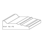 "1-9/16"" x 4-7/8"" Quarter Sawn White Oak Custom Casing - SPL167"