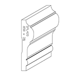 "0.850"" x 3-1/2"" Poplar Custom Chair Rail - SPL420"