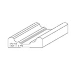 "1.030"" x 3.470"" Poplar Custom Chair Rail - SPL456"