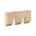 Hard Maple Dentil Moulding B009