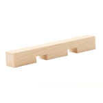 Hard Maple Dentil Moulding B011